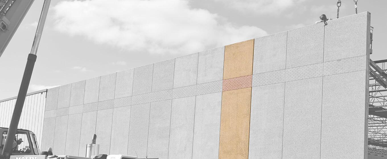 Precast concrete wall panels architectural wall panels for Precast concrete basement walls cost