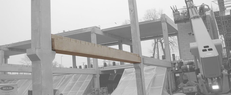 Prestressed Concrete Beams | Concrete Beams MN | Molin