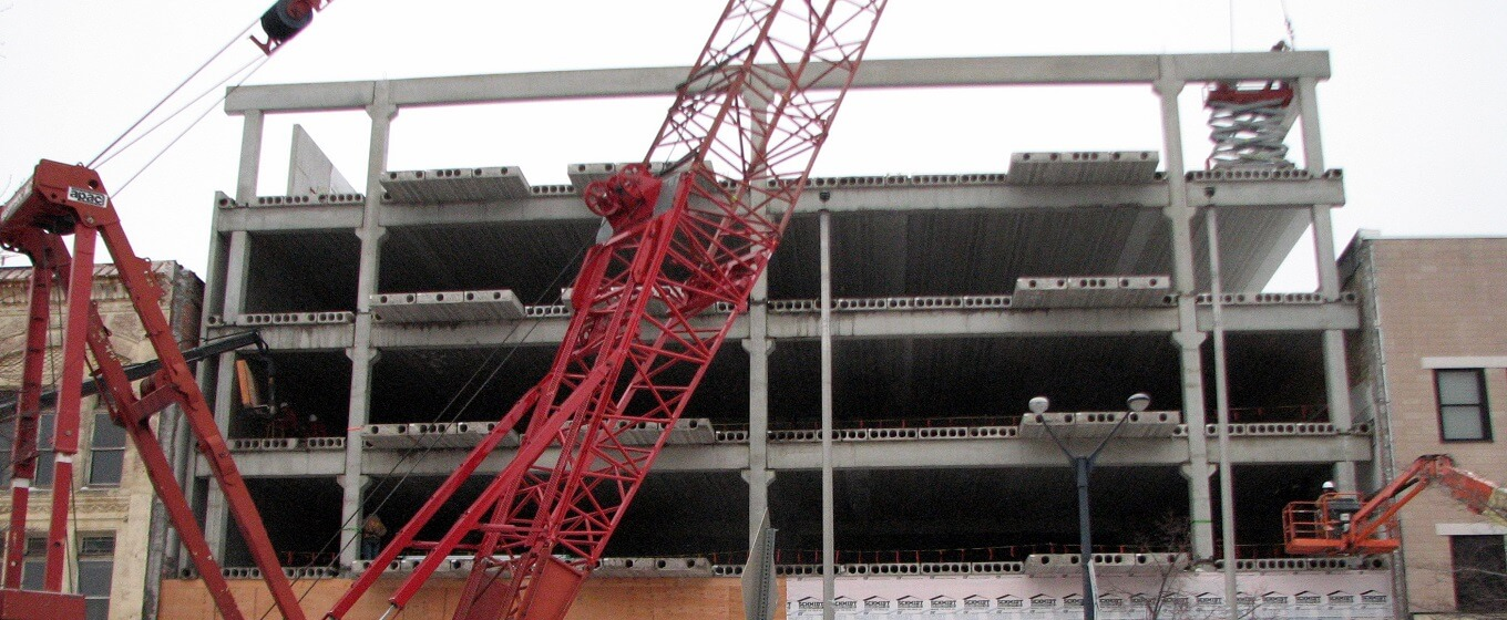Precast Concrete for Office Building Construction
