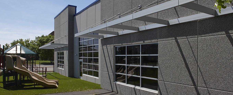 Banaadir Academy Addition - Exterior Wall